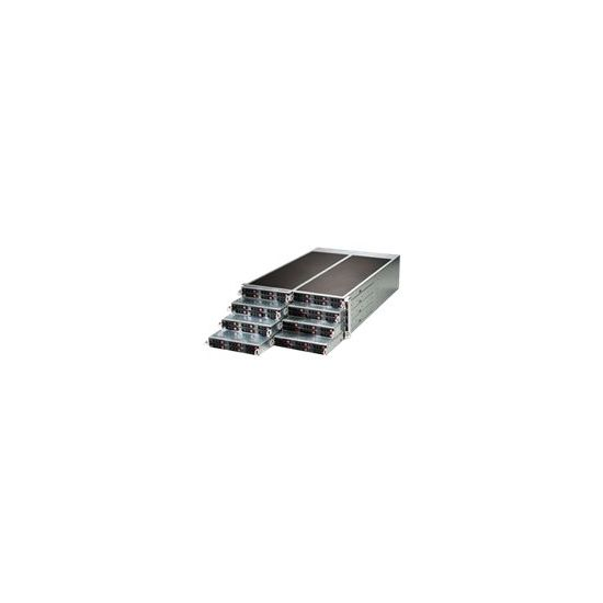 Supermicro SuperServer F617R2-R72+ - rack-monterbar - uden CPU - 0 MB - 0 GB