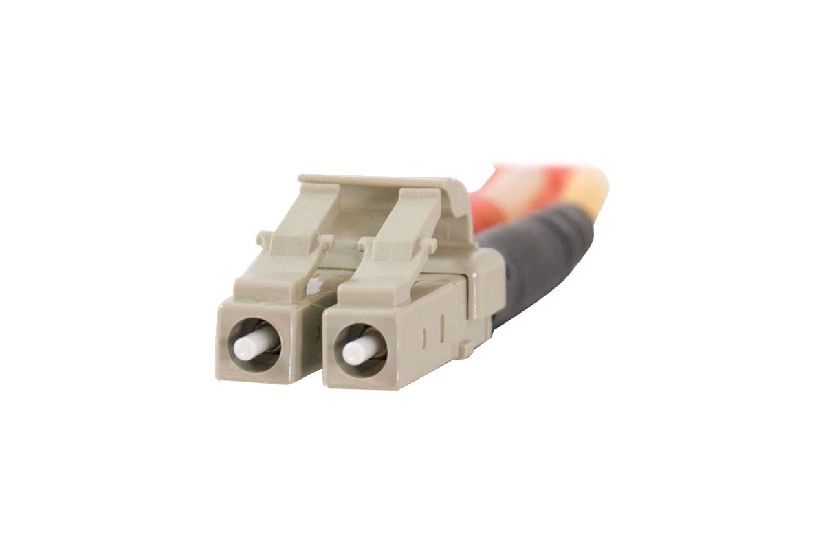 C2G LC-LC 50/125 OM2 Duplex Multimode PVC Fiber Optic Cable (LSZH)