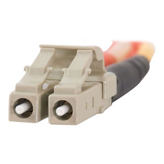 C2G LC-LC 50/125 OM2 Duplex Multimode PVC Fiber Optic Cable (LSZH)
