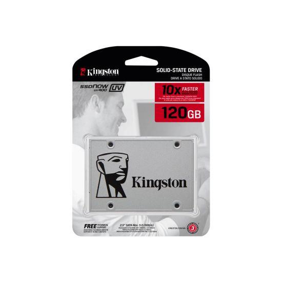 Kingston SSDNow UV400 &#45 120GB - SATA 6 Gb/s - 7 pin Serial ATA