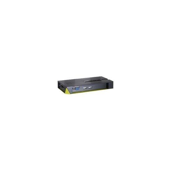 LevelOne ViewCon KVM-0422 - KVM / USB switch - 4 porte - desktop