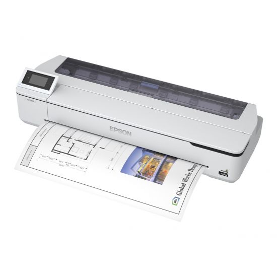 Epson SureColor SC-T5100N - stor-format printer - farve - blækprinter