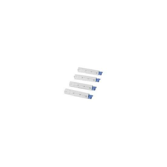 OKI - høj kapacitet - sort - original - tonerpatron
