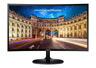 "Samsung CF390 Series C27F390FHU &#45 LED-Skærm 27"" AMD FreeSync VA 4ms"
