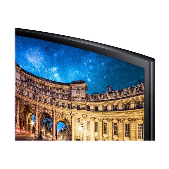 "Samsung CF390 Series C27F390FHU &#45 LED-Skærm 27"" AMD FreeSync VA 4ms"
