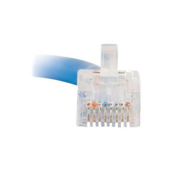 C2G Cat5e Non-Booted Unshielded (UTP) Network Crossover Patch Cable - krydskabel - 2 m - blå