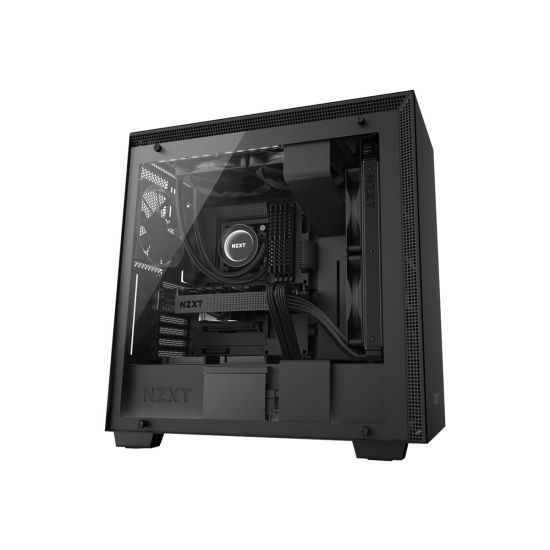NZXT H series H700i - miditower - udvidet ATX - tempered glass