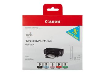 Canon PGI-9 MBK/PC/PM/R/G Multi-Pack