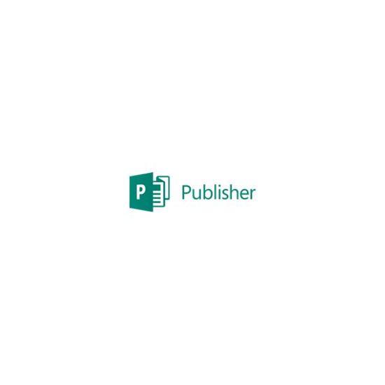 Microsoft Publisher 2016 - licens - 1 PC