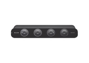 Belkin OmniView SOHO Series 4 Port KVM Switch with Audio