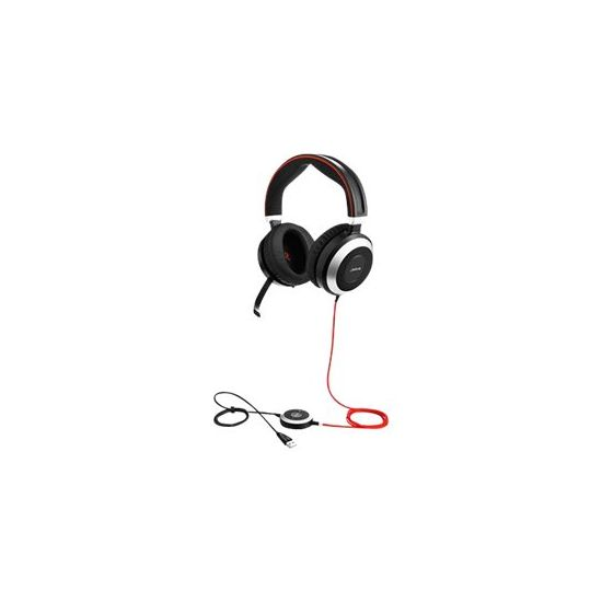 Jabra Evolve 80 MS stereo - headset