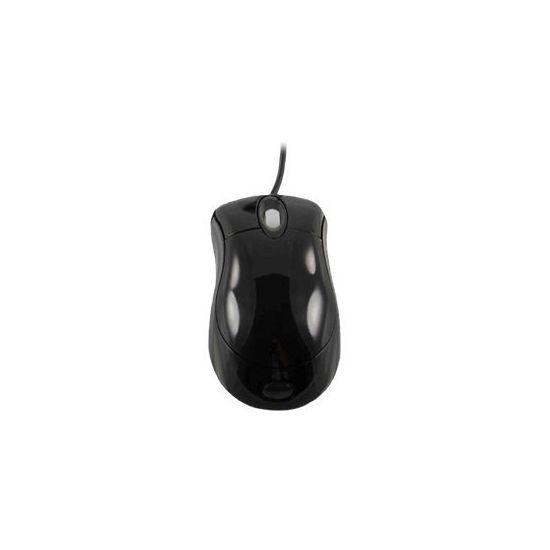 DELTACO Optisk Mus USB Sort