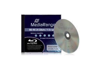 Bluray MediaRange 25GB 1pcs BD-RE JewelCase 2x