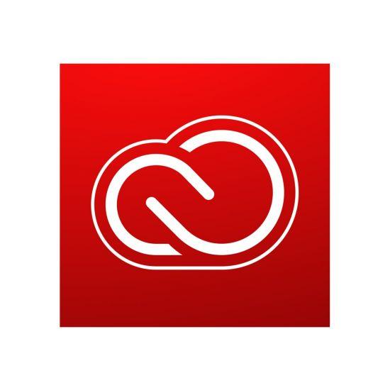 Adobe Creative Cloud for teams - Team Licensing Subscription Renewal (1 måned) - 1 bruger, 10 enheder