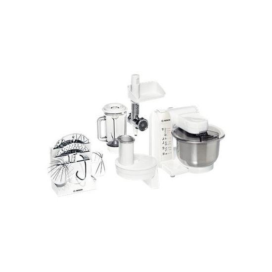 Bosch MUM4875EU - køkkenmaskine - 600 W - hvid