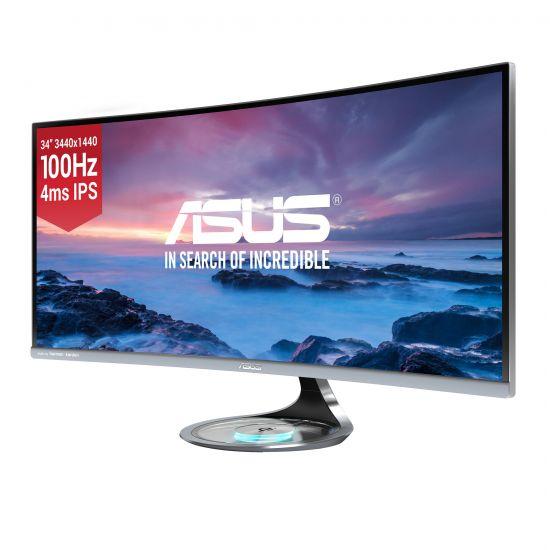 """ASUS MX34VQ &#45 LED-Skærm 34"""" VA 4ms - 3440x1440 ved 100Hz"""