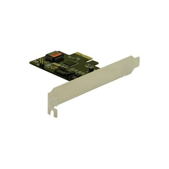 DeLOCK SATA II PCI Express Card - styreenhed til lagring (RAID) - SATA 3Gb/s - PCIe x1