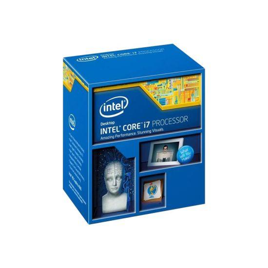 Intel Core i7 4790K (4. Gen) - 4 GHz Processor - LGA1150 Socket - Quad-Core med 8 tråde - 8 mb cache