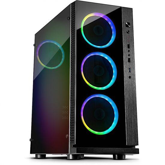Føniks XMAS Færdigsamlet Gamer Computer - Intel i5 9600K - 16GB DDR4 - Nvidia GTX 1060 6GB - 480GB SSD - Windows 10