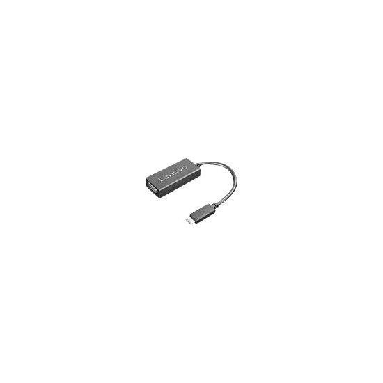 Lenovo USB-C to VGA Adapter - ekstern videoadapter