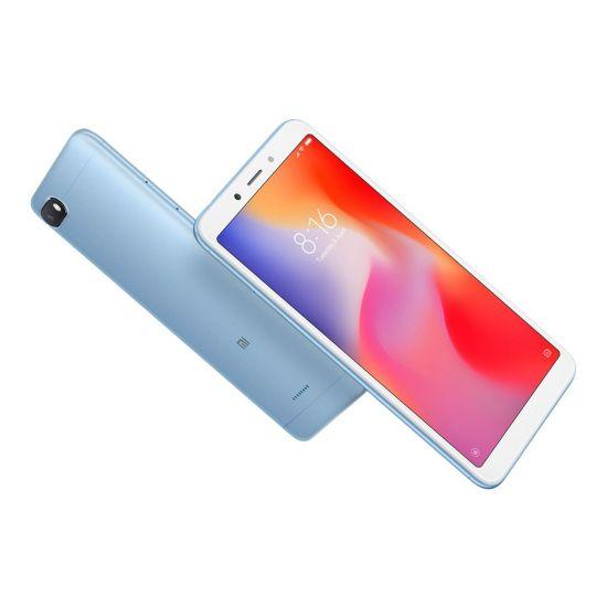 Xiaomi Redmi 6A - blå - 4G HSPA+ - 16 GB - GSM - smartphone
