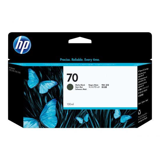 HP 70 - mat sort - original - blækpatron