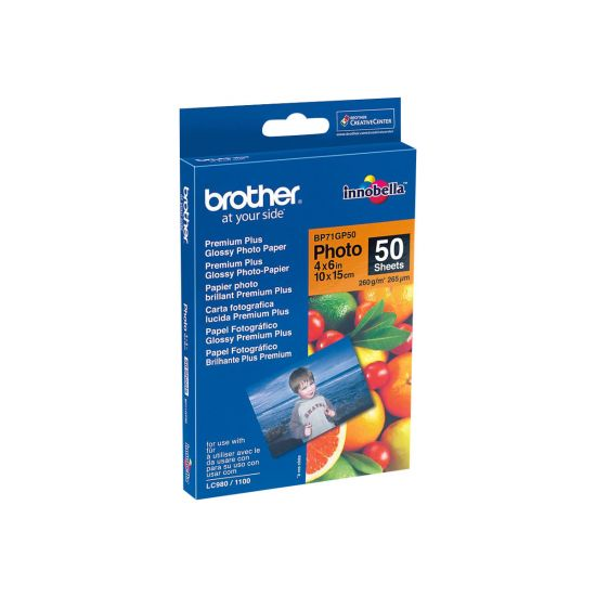 Brother BP - fotopapir - 50 ark - 100 x 150 mm