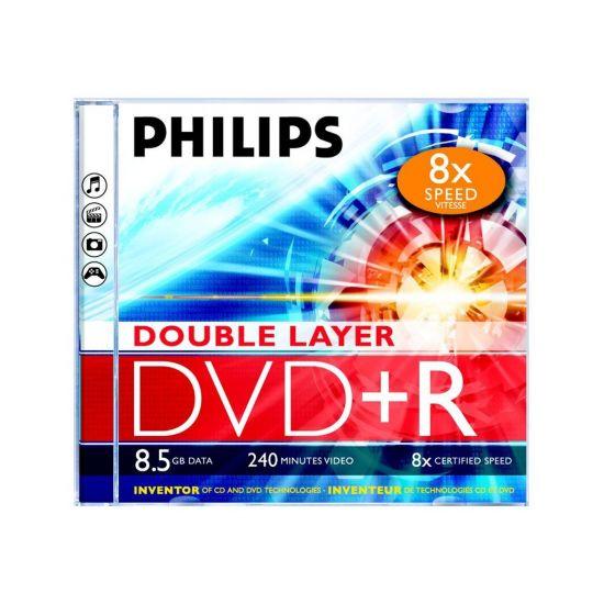Philips DR8S8J05C - DVD+R DL x 5 - 8.5 GB - lagringsmedie