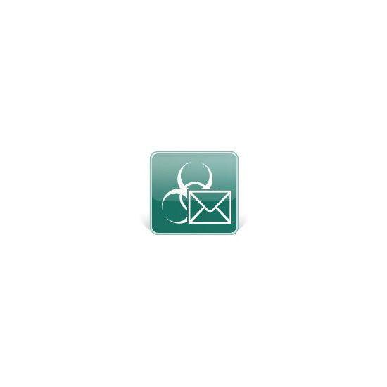Kaspersky Security for Mail Server - fornyelse af abonnementlicens (2 år) - 1 postkasse