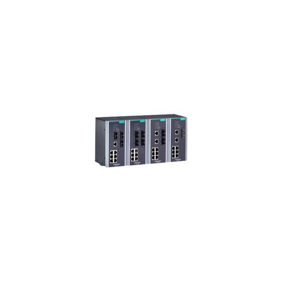 Moxa PowerTrans PT-510-SS-LC-48 - switch - 10 porte - Administreret