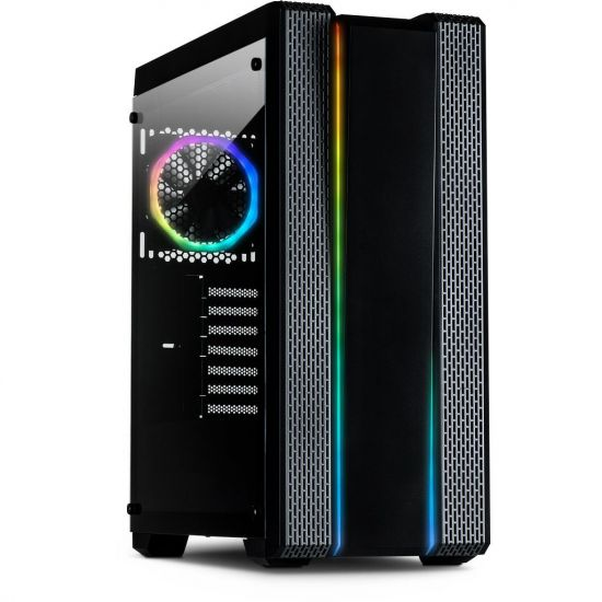Inter-Tech S-3901 Impulse RGB ATX Kabinet