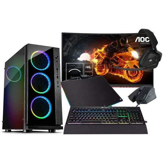 RGB Gaming Bundle - Komplet Pakke