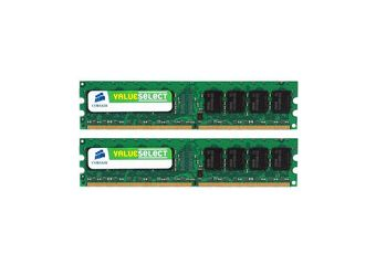 Corsair Value Select &#45 4GB: 2x2GB &#45 DDR2 &#45 667MHz &#45 DIMM 240-pin