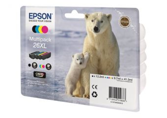 Epson 26XL Multipack Easy Mail Packaging