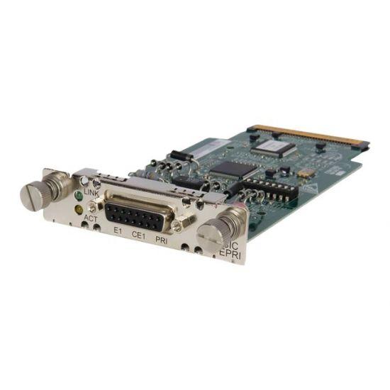 HPE E1/CE1/PRI SIC Module - ISDN-terminaladapter - PRI E1