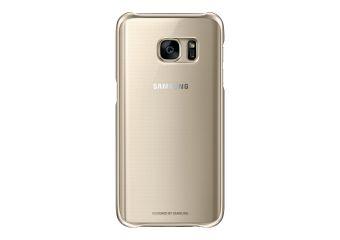 Samsung Clear Cover EF-QG930 bagomslag til mobiltelefon
