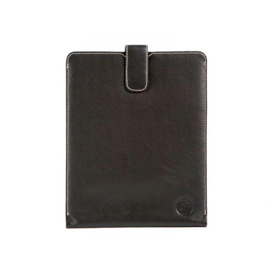 D. Bramante 9.7´´ Slip til iPad 2, 3 og 4 i Glat sort Læder