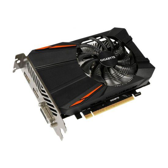 Gigabyte GeForce GTX 1050 Ti D5 4G &#45 NVIDIA GTX1050Ti &#45 4GB GDDR5 - PCI Express 3.0 x16