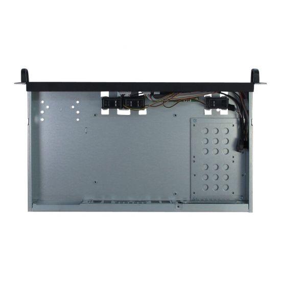 Inter-Tech IPC 1U-K-125L - rackversion - 1U - mini ITX