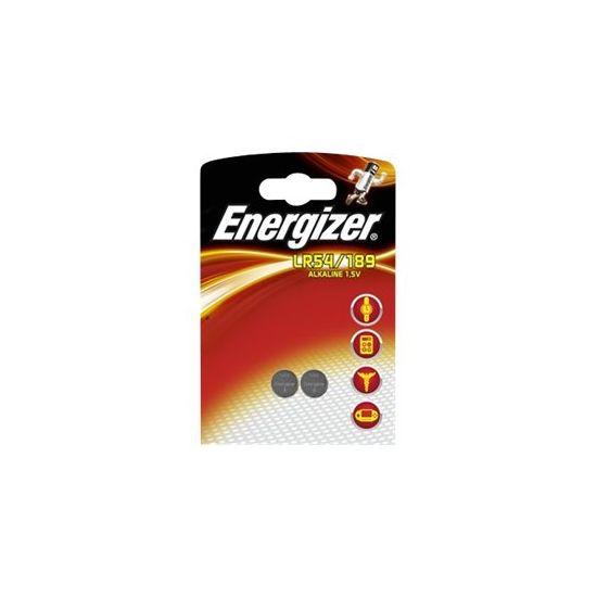 Energizer batteri - LR54/189 - Alkalisk x 2