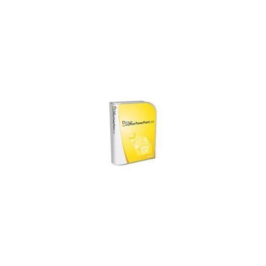 Microsoft Office PowerPoint 2007 - bokspakke - 1 PC