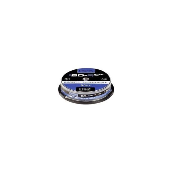 Intenso - BD-R x 5 - 25 GB - lagringsmedie