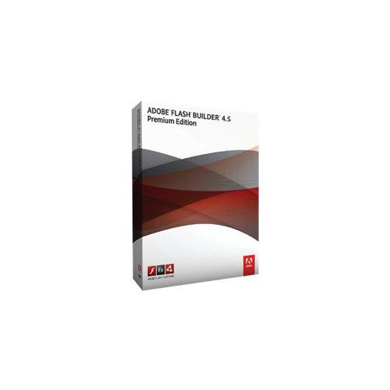 Adobe Flash Builder Premium (v. 4.5) - versionsopgraderingslicens - 1 bruger