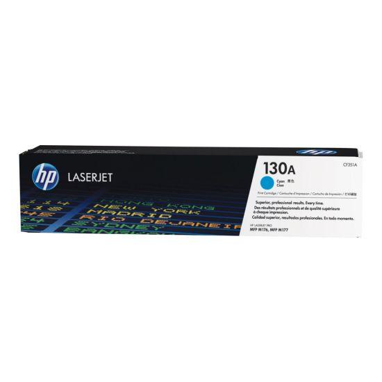 HP 130A - cyan - original - LaserJet - tonerpatron (CF351A)