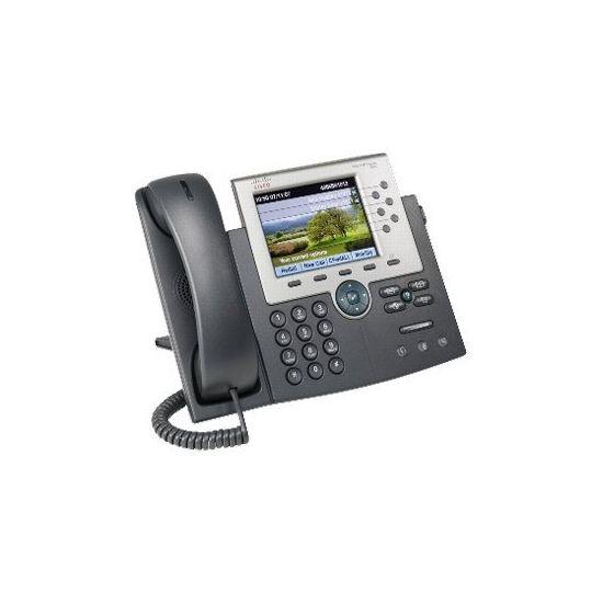Cisco Unified IP Phone 7965G - VoIP-telefon - med 1 x brugerlicens til Cisco CallManager Express