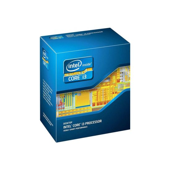 Intel Core i3 7320 (7. Gen) - 4.1 GHz Processor - Dual-Core med 4 tråde - 4 mb cache