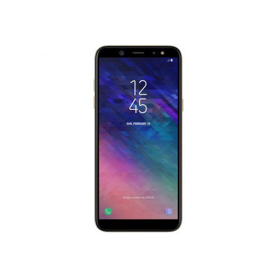 Samsung Galaxy A6 - SM-A600FN/DS - guld - 4G HSPA+ - 32 GB - GSM - smartphone