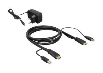 DeLock HDMI KVM Switch 2 > 1 with USB and Audio