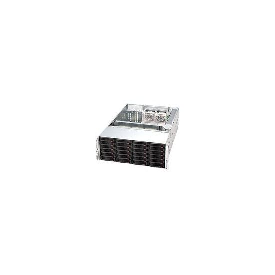 Supermicro SC846 TQ-R1200B - rackversion - 4U - udvidet ATX