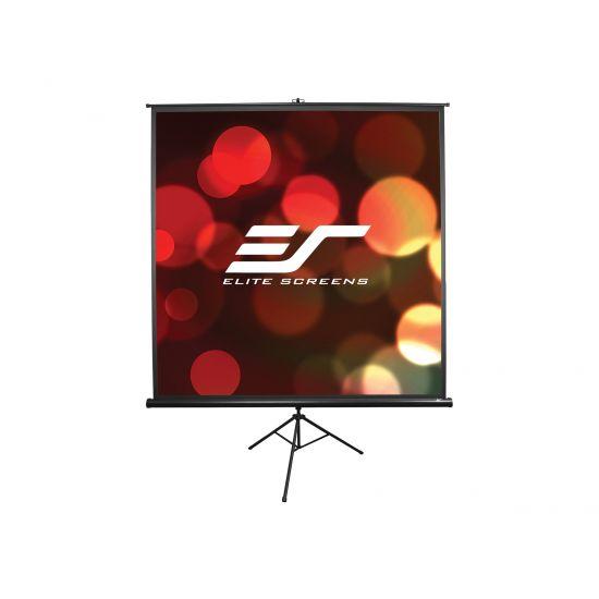 Elite Tripod Series T100UWH - projektionsskærm med trebenet stativ - 100 tommer ( 254 cm )